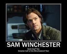Sam Winchester wallpaper possibly with a portrait titled Sam Winchester