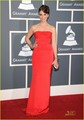 Sara Bareilles - Grammys 2011 Red Carpet - sara-bareilles photo