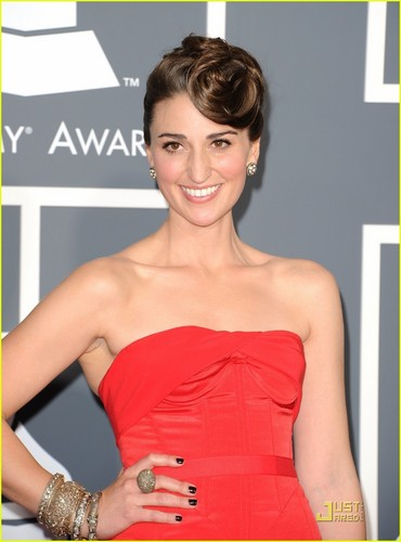 Sara Bareilles - Grammys 2011 Red Carpet
