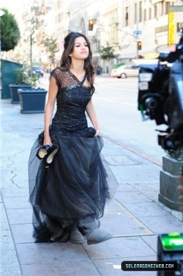 Selena Shooting âm nhạc video 2011
