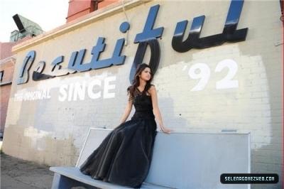 Selena Shooting musik video 2011