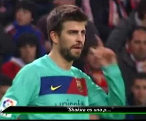 Gerard Piqué wallpaper called Shakira es una puta !!!!!