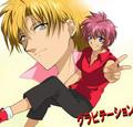 Shuichi and Yuki<3