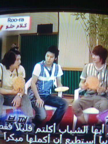 Super junior on Idol Show!