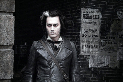 Tim برٹن پیپر وال containing a business suit titled Sweeney Todd