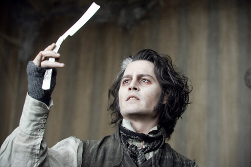 Tim burton fond d'écran called Sweeney Todd