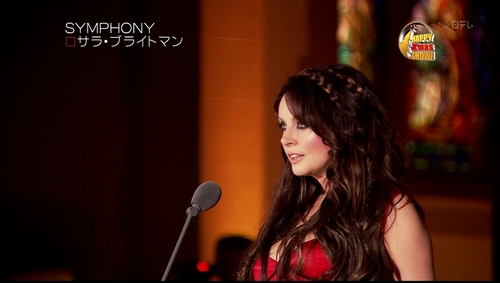 sarah brightman wallpaper titled Symphony - (Happy Xmas Show)
