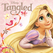 Tangled >3 SPOILERS - flynn-and-rapunzel icon