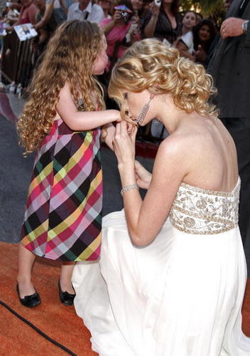 Taylor Swift and Little Girl