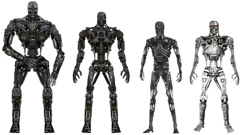 The Different Terminators