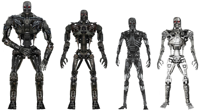 Terminator Salvation Images The Different Terminators