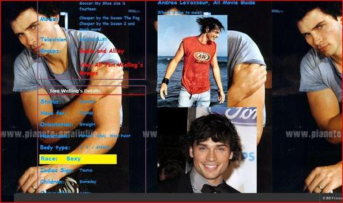 Tom Welling's Myspace