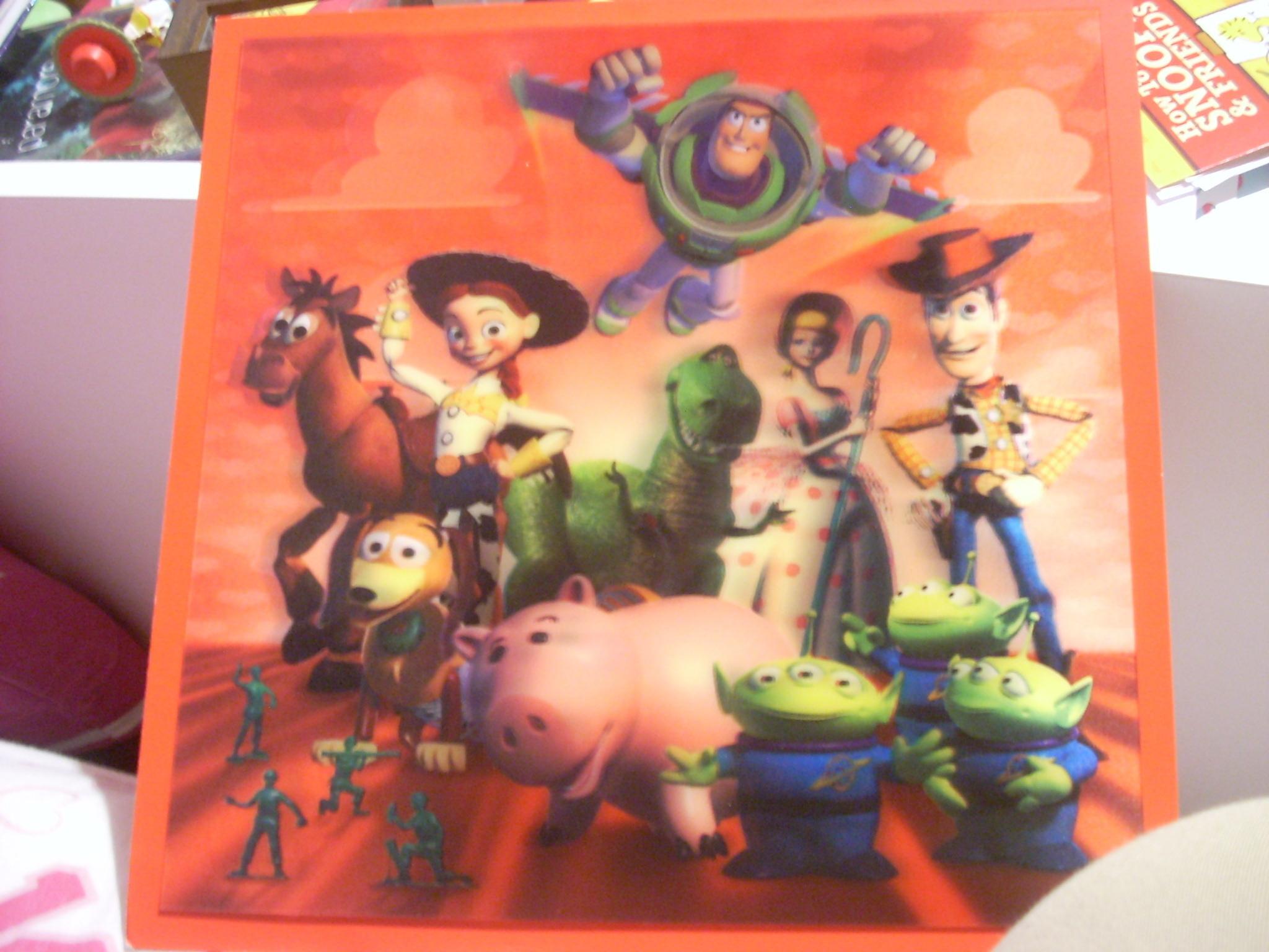 Toy Story Valentine's Card
