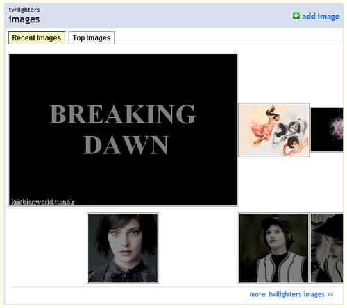 Twilight broke Fanpop.