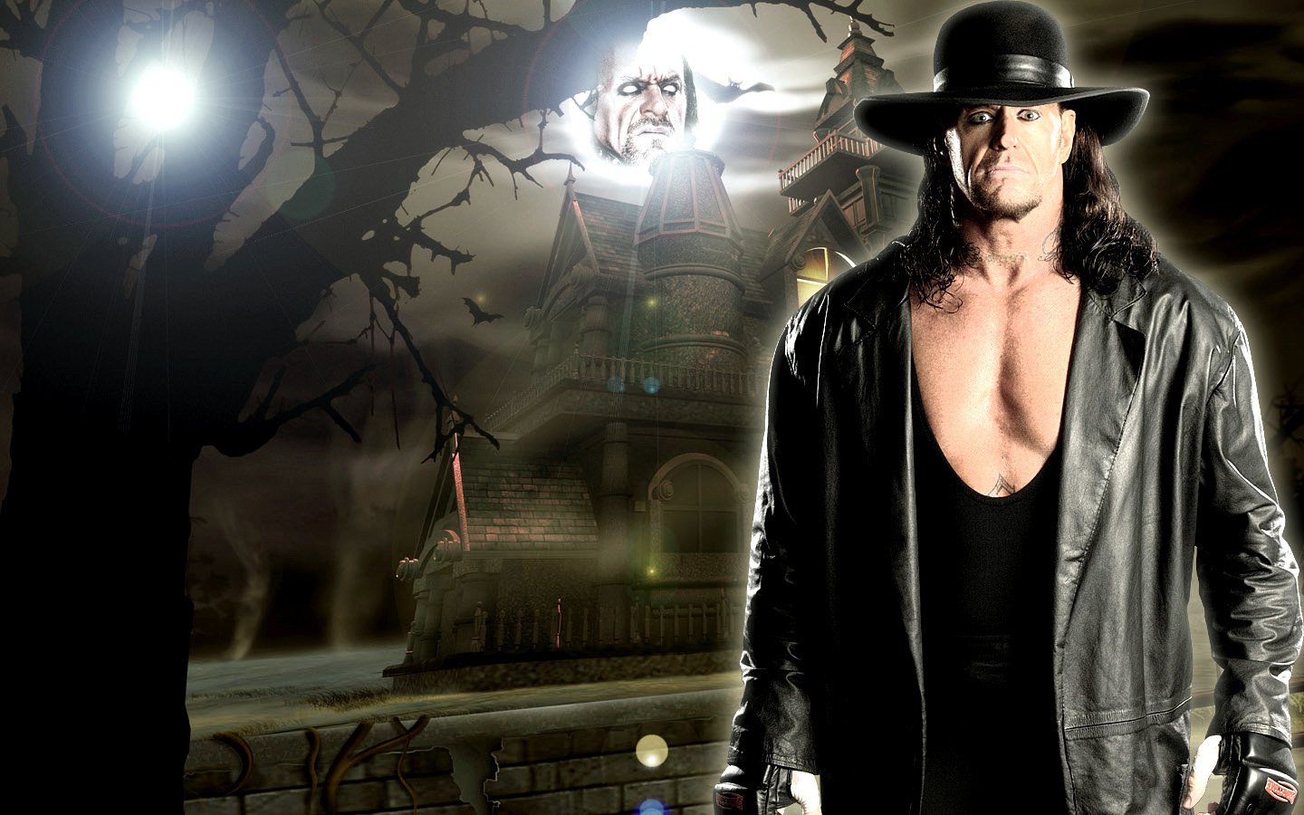 Undertaker Wallpaper With A Fedora Entitled UNDERTAKER