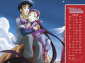W.I.T.C.H Hay Lin and Eric Calender