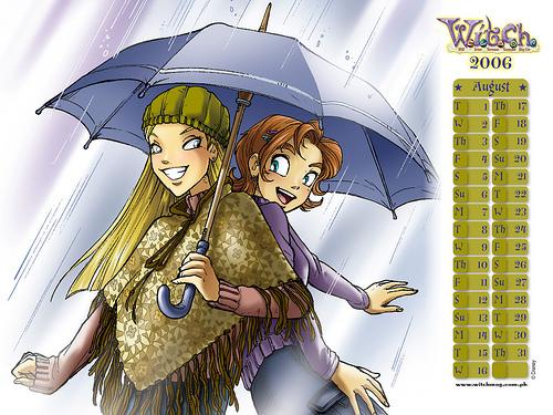W.I.T.C.H Cornelia and Irma Calender