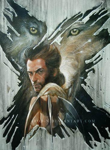 Hugh Jackman as Wolverine वॉलपेपर titled Wolverine