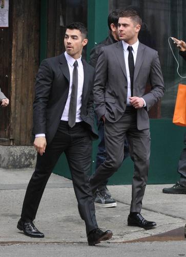 Zac Efron - Soho and New York