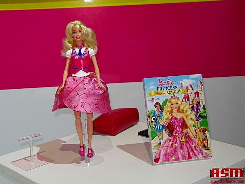 barbie princess charm school doll and dvd - barbie-movies photo