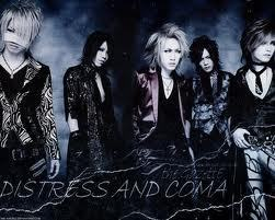 distress and coma ;3