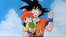 Gohan fond d'écran with animé titled Goku and gohan