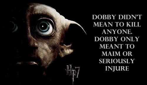 harry potter and the deathly hallows - dobby
