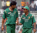 mashrafi and ashraful - bangladesh-cricket photo