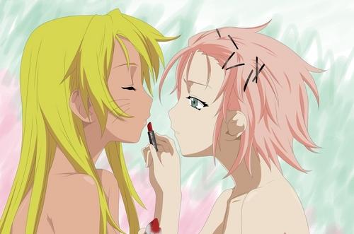 naruko and sakura(yuri)