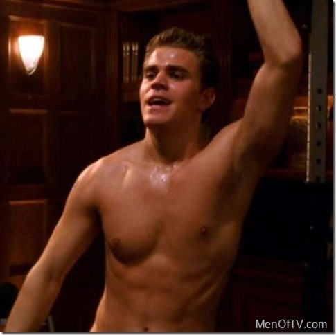 el diario de los vampiros fondo de pantalla possibly with a pedazo, hunk and a six pack titled paul wesley shirtless :)