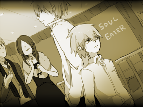 Soul Eater (Пожиратель душ) Обои containing Аниме entitled soul eater lovely