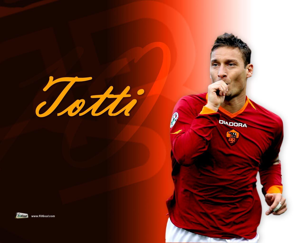 Francesco Totti As Roma Wallpapers Sports Images As Roma Hd Wallpaper