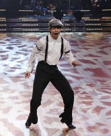 Alex dancing quickstep!