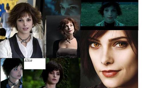 Alice-Twilight & New Moon achtergrond