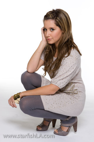 Ashley Tisdale Hintergrund possibly containing bare legs, hosiery, and tights entitled Ashley