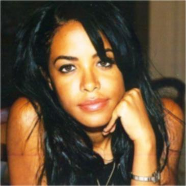 Aaliyah wallpaper containing a portrait and attractiveness entitled BabyGirl ♥