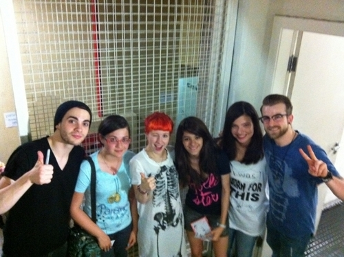 Belo Horizonte Merch M&G Winners With Paramore!