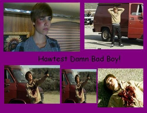 Bieber Comic: Hawtest Damn Bad Boy!