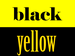 Black and yellow - wiz-khalifa icon