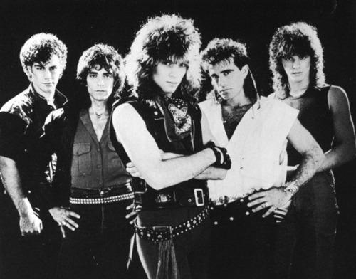 The 80s wallpaper containing a concert called Bon Jovi
