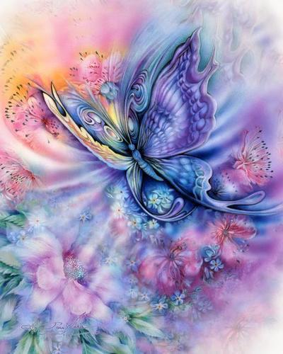 borboleta Art, por Joan Marie http://www.joanmarieart.com