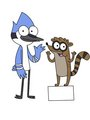 Child Mordecai and Rigby