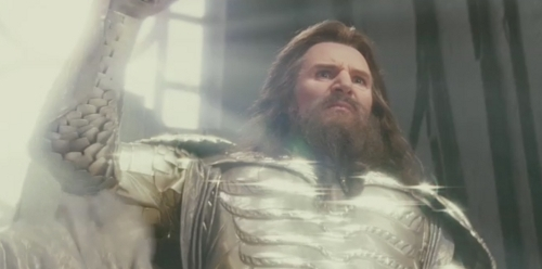 Liam Neeson Обои called Clash of the Titans