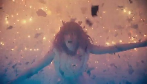 Florence + The Machine wallpaper possibly with an embryonic cell entitled Cosmic Love [Music Video]