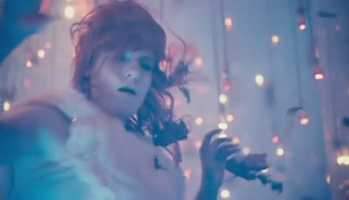 Florence + The Machine wallpaper probably containing a concert titled Cosmic Love [Music Video]