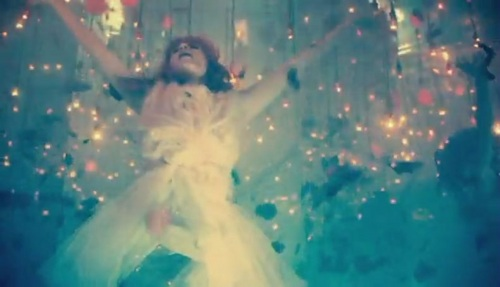 Florence + The Machine wallpaper probably with a fountain entitled Cosmic Love [Music Video]