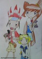 Crash B-daman drawn by me..^_^