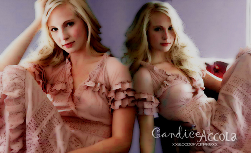 Croline Forbes/Candice Accola wallpaper