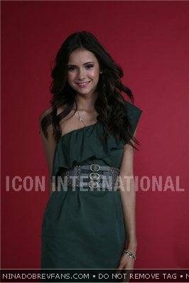 Nina Dobrev wallpaper possibly with a portrait called Dean Foreman Photoshoot Outtakes (November/December 2010).