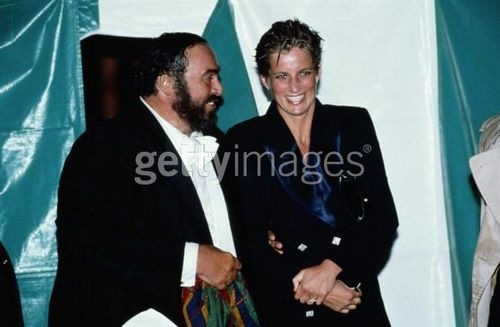 Diana And Pavarotti